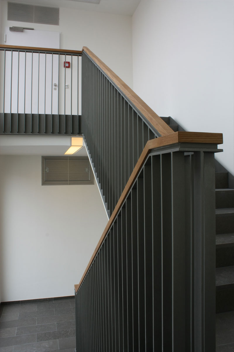 Treppengeländer, Foto: Michael Mey