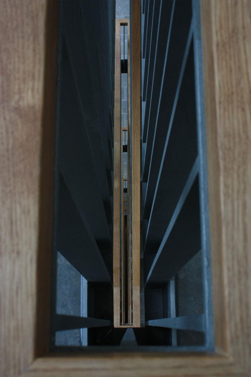 Detail Treppengeländer, Foto: Michael Mey
