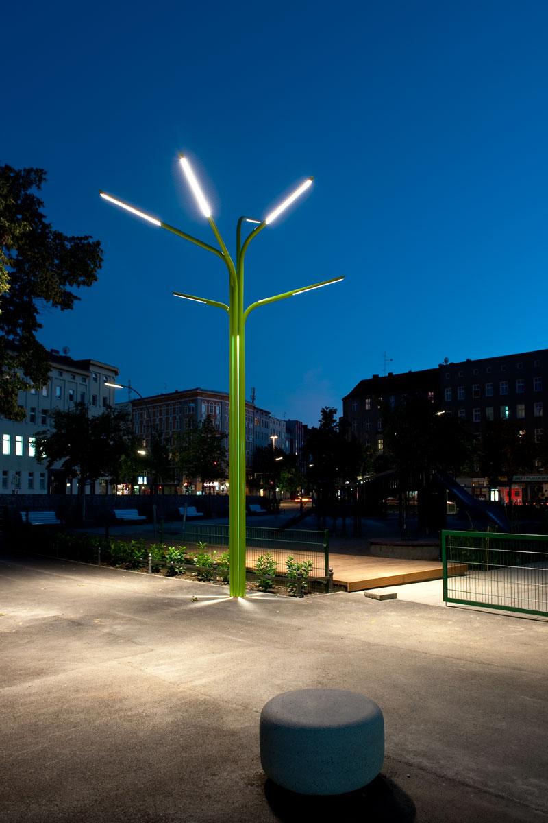 Lichtbaum, Foto: Andreas Süß