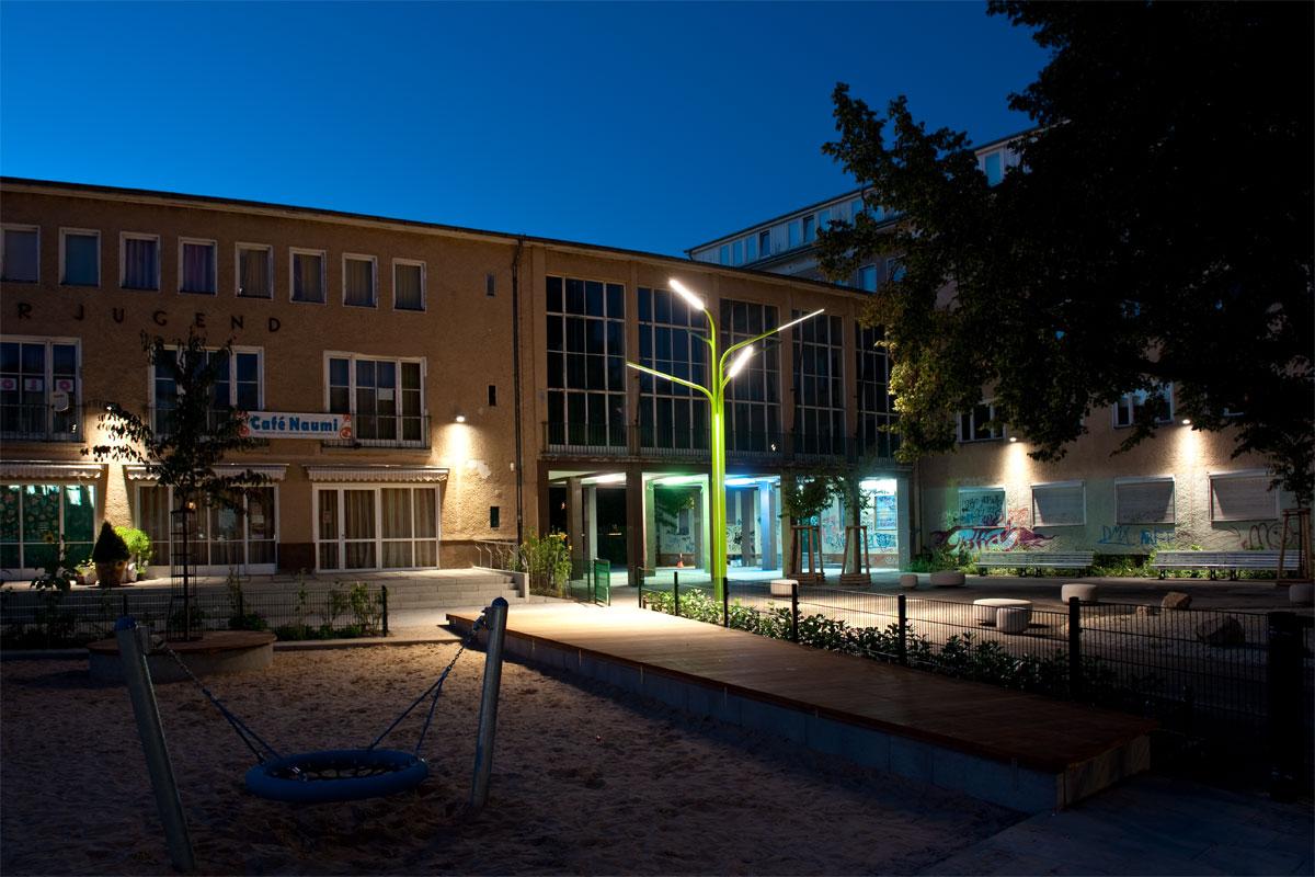 Lichtbaum Ansicht, Foto: Andreas Süß