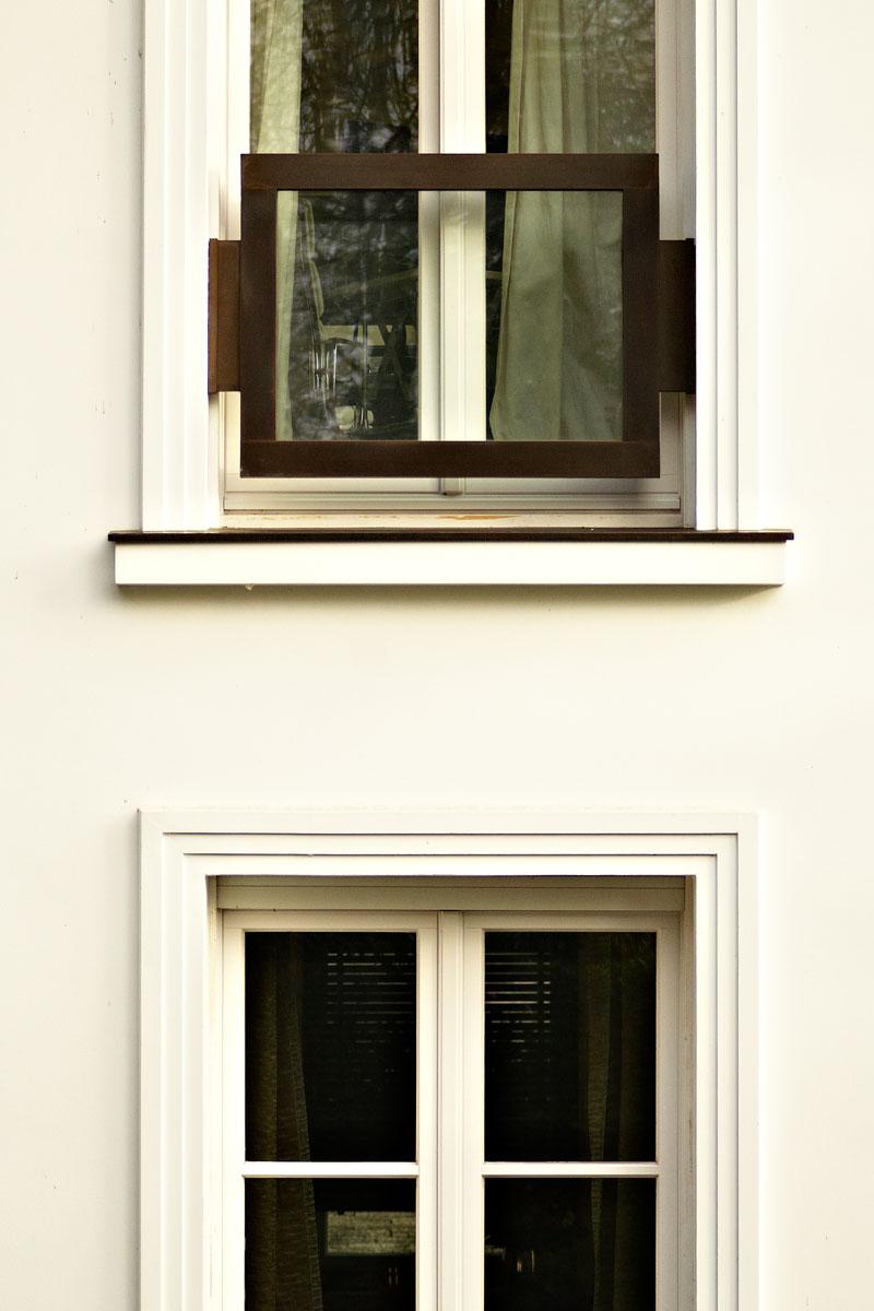 Brüstungsgeländer Baubronze, Foto: Christian Fittkau